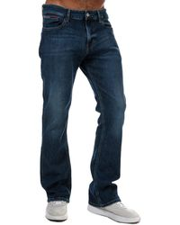 Tommy Hilfiger Ryan Relaxed Bootcut Jeans - Blue