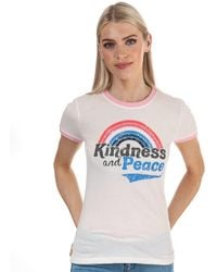 Brave Soul Kindness And Peace T-shirt - Pink