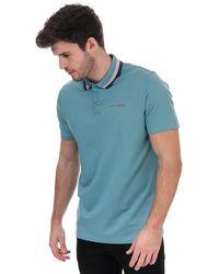 Ted Baker Kabby Golf Polo Shirt - Blue
