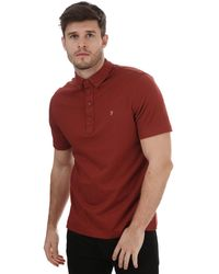 Farah George Polo Shirt - Brown