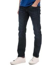 Tommy Hilfiger Denton Straight Fit Denim Jeans - Purple