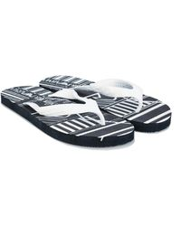 Armani Flip Flops - Black