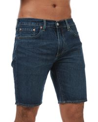 Levi's 405 Standard 10 Inch Shorts - Blue