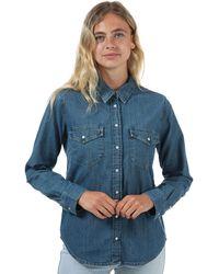Levi's Essential Western Shirt - Blue