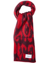 Vero Moda Rica Long Scarf - Red