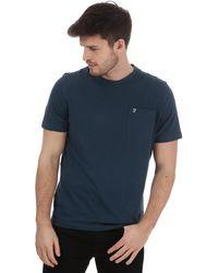 Farah Edward Pocket T-shirt - Green