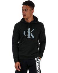 Calvin Klein Ck One Lounge Hoody - Black