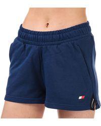 Tommy Hilfiger Bio Cool Tape Detail Shorts - Blue