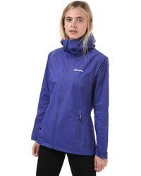 Berghaus Deluge Pro Waterproof Jacket - Purple
