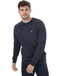 Lyle & Scott Crew Neck Sweatshirt - Blue