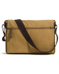 G.H. Bass & Co. - Hudson Messenger Bag - Lyst