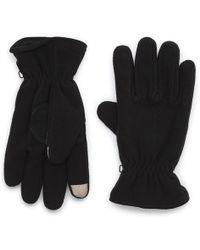 G.H. Bass & Co. - Caldwell Fleece Touch Glove - Lyst