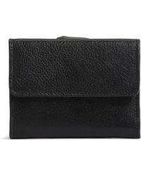 G.H.BASS G.h. Bass Medium Leather Wallet - Black