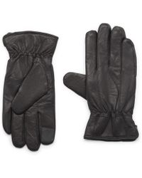 G.H. Bass & Co. | Distressed Leather Touchscreen Glove | Lyst