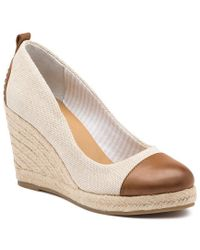 G.H. Bass & Co. - Kaitlyn Espadrille Wedge - Lyst