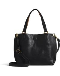 G.H. Bass & Co. - Sofia Reversible Mini Tote With Charger - Lyst