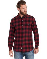 G.H. Bass & Co. | Long Sleeve Check Twill Shirt | Lyst