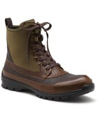e0aa8da556d Wolverine Deacon Chukka (oxblood Leather) Men's Boots in Brown for ...