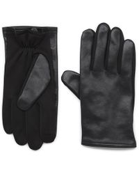 G.H. Bass & Co. - Carter Leather Touch Glove - Lyst