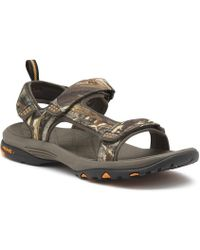 44071cae0ee6 Lyst - G.H.BASS Propel Premium Jungle Sandal in Black for Men