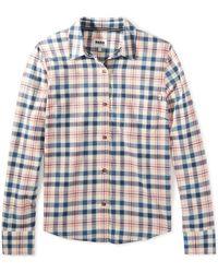 G.H. Bass & Co.  Windsor Field Stretch Shirt - Blue
