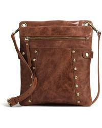 Lyst - Patricia Nash  heritage - Argos  Crossbody Bag in Brown f25b99ede9027