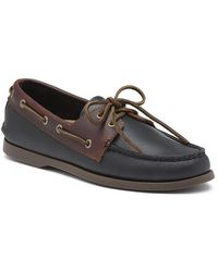 G.H.BASS  Hampton Men's Boater Wide - Black