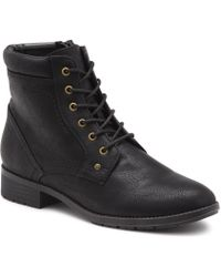 G.H.BASS G.h. Bass Pennsy Lace-up Boot - Black
