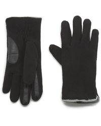 G.H.BASS G.h. Bass Fleece Glove With Touch - Black