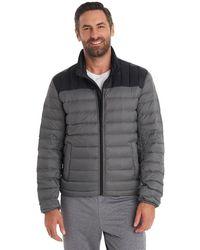 G.H.BASS  Packable Puffer Jacket - Gray