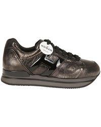 size 40 21f32 2f3ba Hogan - HOGAN Sneaker 222 grigia - Lyst