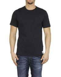 Department 5 - DEPARTMENT FIVE T-shirt taschino blu - Lyst