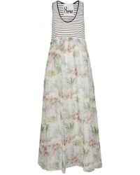 8pm - Printed Dress - Lyst
