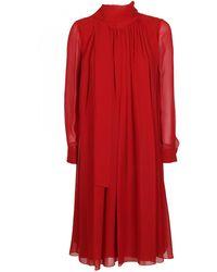 qualità superiore varietà di stili del 2019 costo moderato MAX MARA ELEGANTE abito rugiada rosso