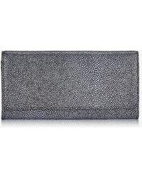 Gigi New York Large Fold-over Wallet - Multicolor