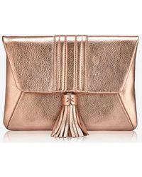 Gigi New York Ava Clutch - Pink