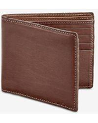 Gigi New York Bi-fold Wallet - Brown