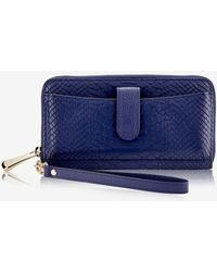 Gigi New York City Wallet - Blue