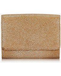 Gigi New York Classic Small Foldover Wallet - Multicolor