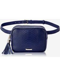 Gigi New York Kylie Belt Bag - Blue