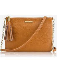 55457907c Gigi New York Chelsea Leopard-print Crossbody Bag in Brown - Lyst