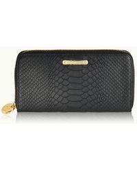 Gigi New York - Large Zip Around Wallet - Lyst