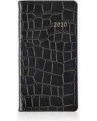 "Gigi New York 2020 6"" Pocket Datebook - Black"