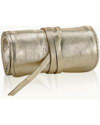 Gigi New York | Small White Gold Jewelry Roll | Lyst