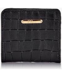 Gigi New York - Mini Foldover Wallet - Lyst