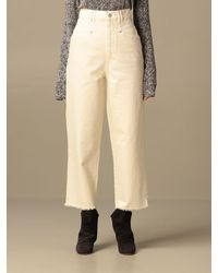 Isabel Marant Trousers - Natural
