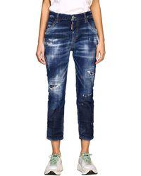 DSquared² Women's Jeans - Blue