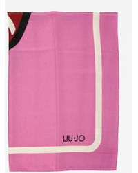 Liu Jo Neck Scarf - Pink