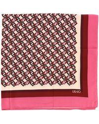 Liu Jo Women's Neck Scarf - Pink