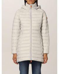 Save The Duck Coat - Grey